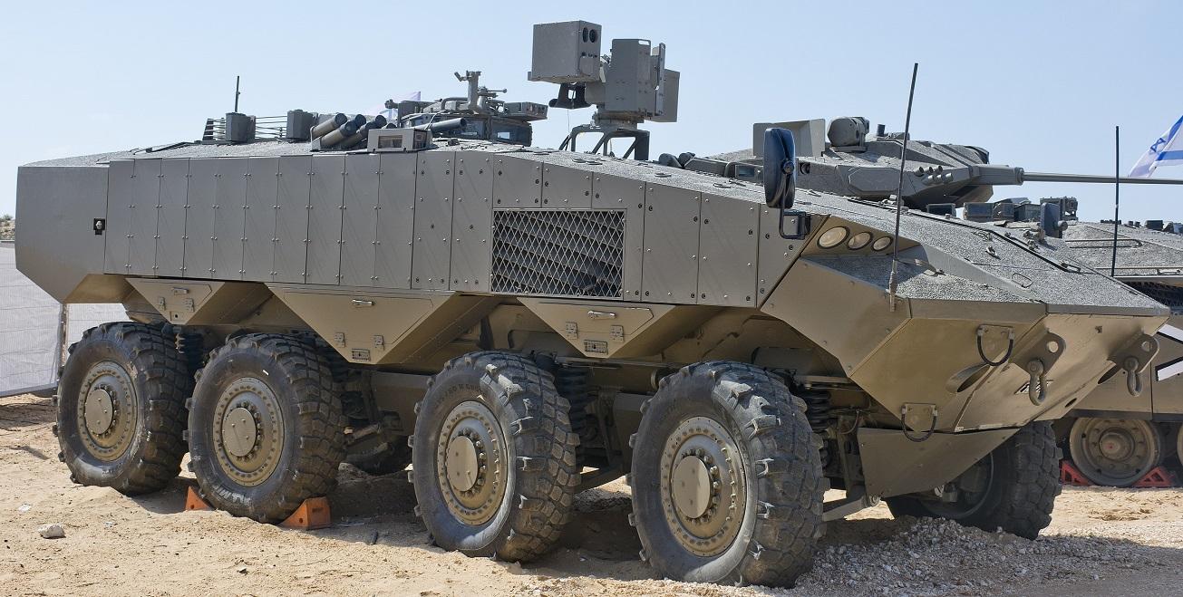 Resultado de imagen para Meet Eitan: Israel's New Eight-Wheeled Armored Monster Weapon