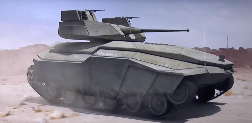 Carmel: Israel Unveils New Stealth Street-Fighting Tank