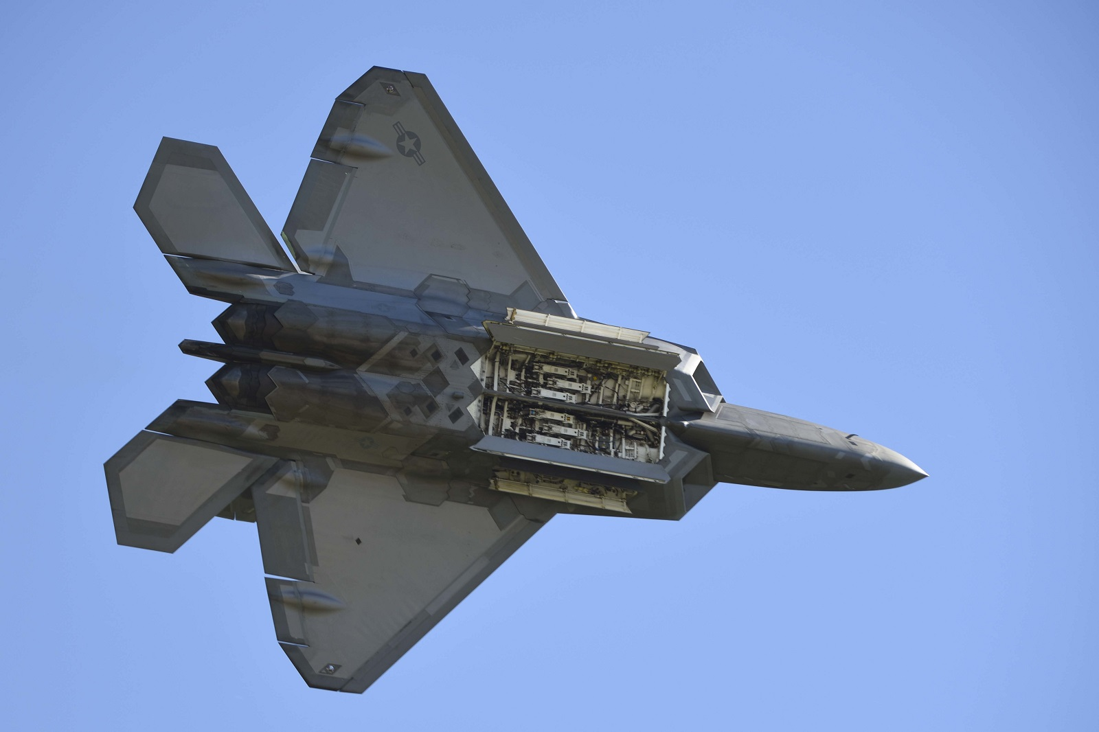 Raptor Bomber: The Air Force Really Dreamed Up a F-22 Stealth Bomber?