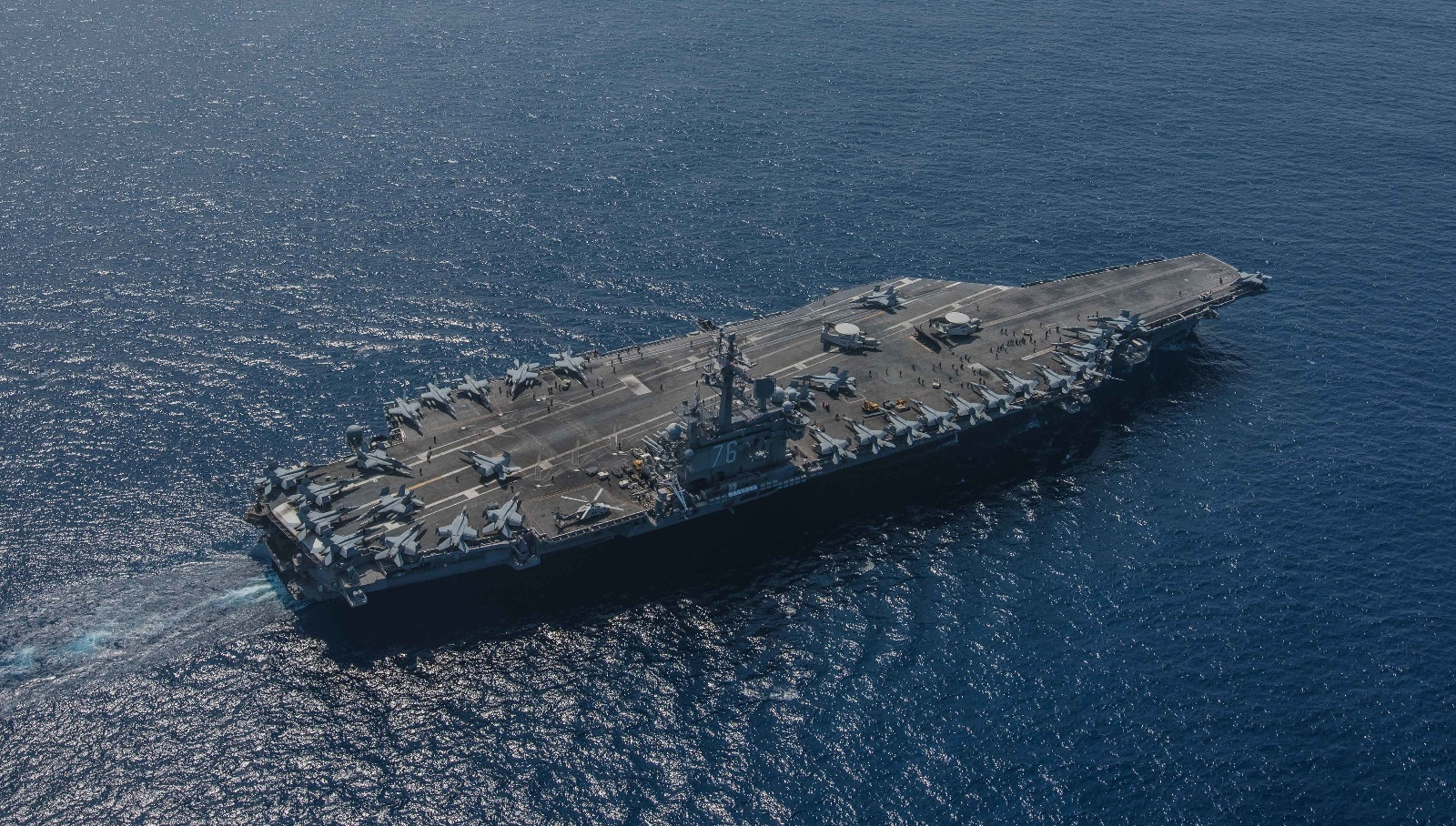 Dangerous Words: Would China Attack Two U.S. Navy Aircraft Carriers?