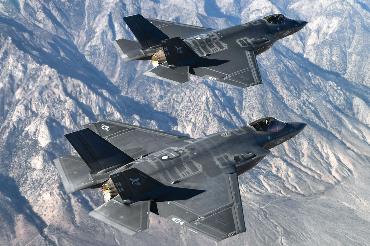 Check Out the Navy's F-35C (In Beast Mode with Hypersonic Weapons)