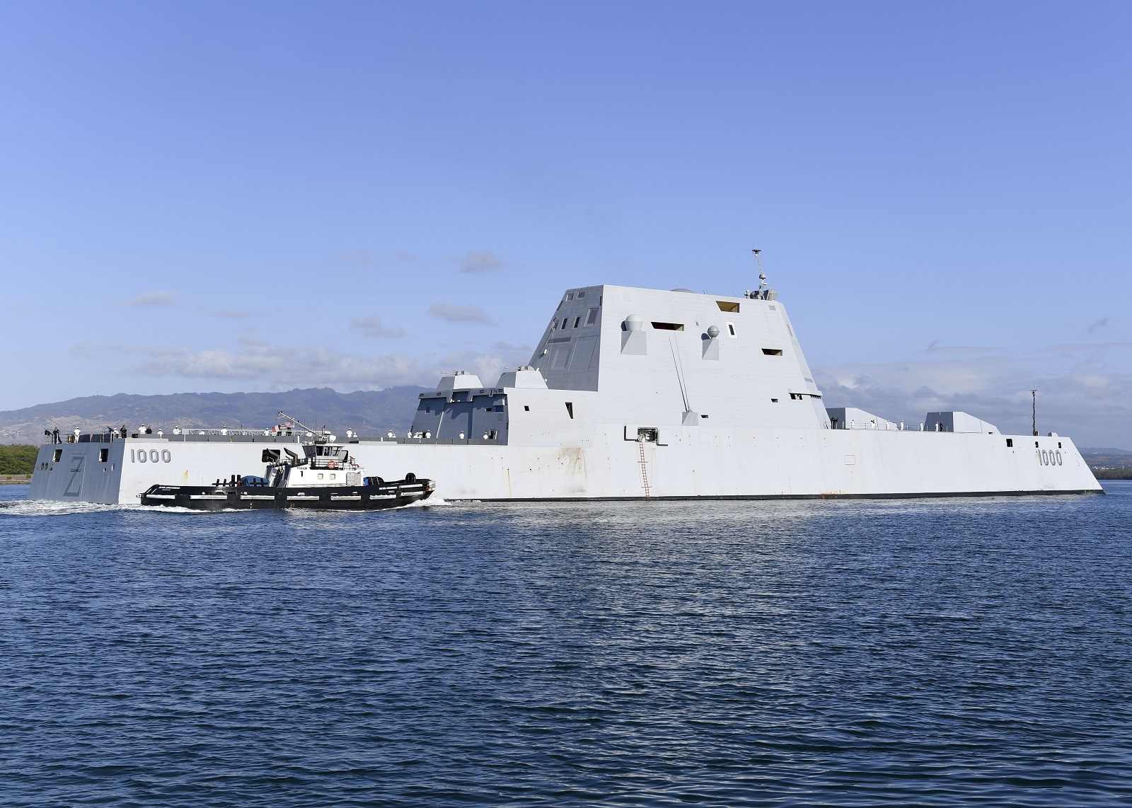 See This Picture? Great, So Stop Calling This Stealth Destroyer a Battleship
