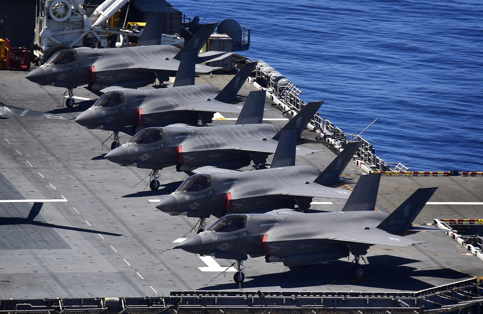 Check Out the Navy's New 'Light' Aircraft Carriers (Thanks to the F-35B)
