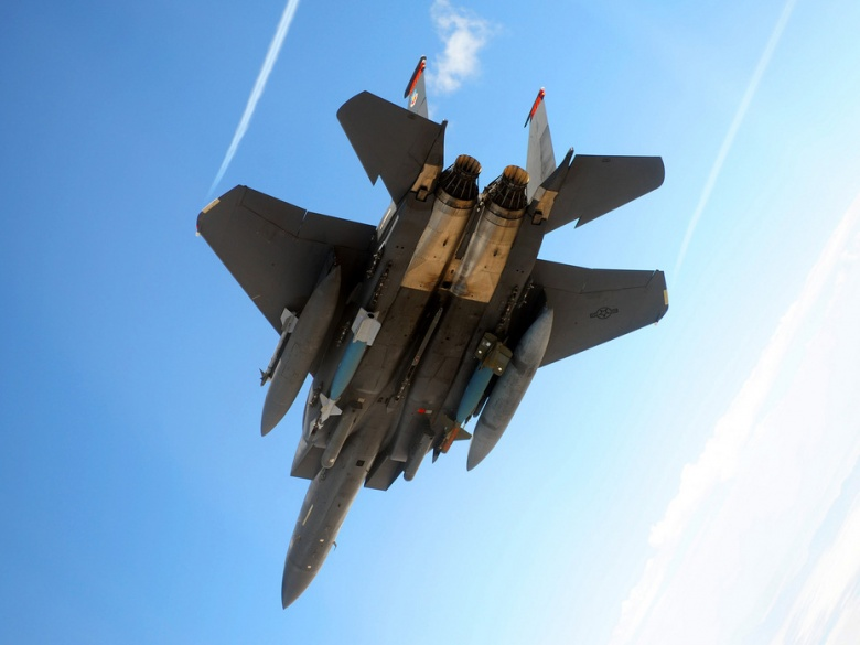 U.S. Air Force to Arm Fighters with Superpowered SHIELD Lasers