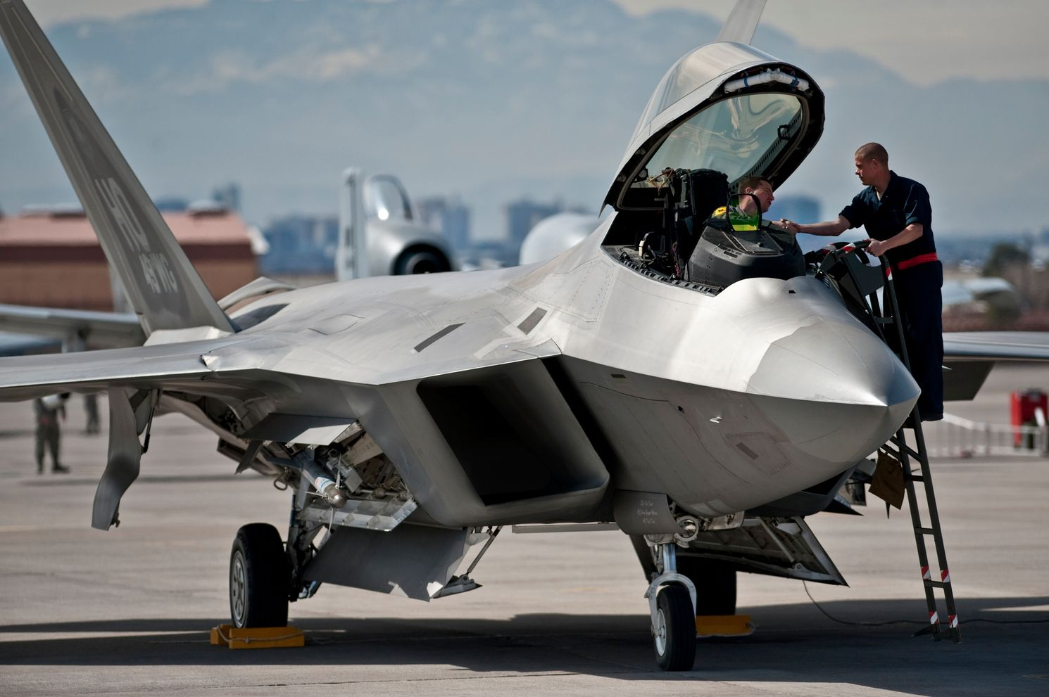 One of America's Top Allies Proved an F-22 Can Be Killed in Combat