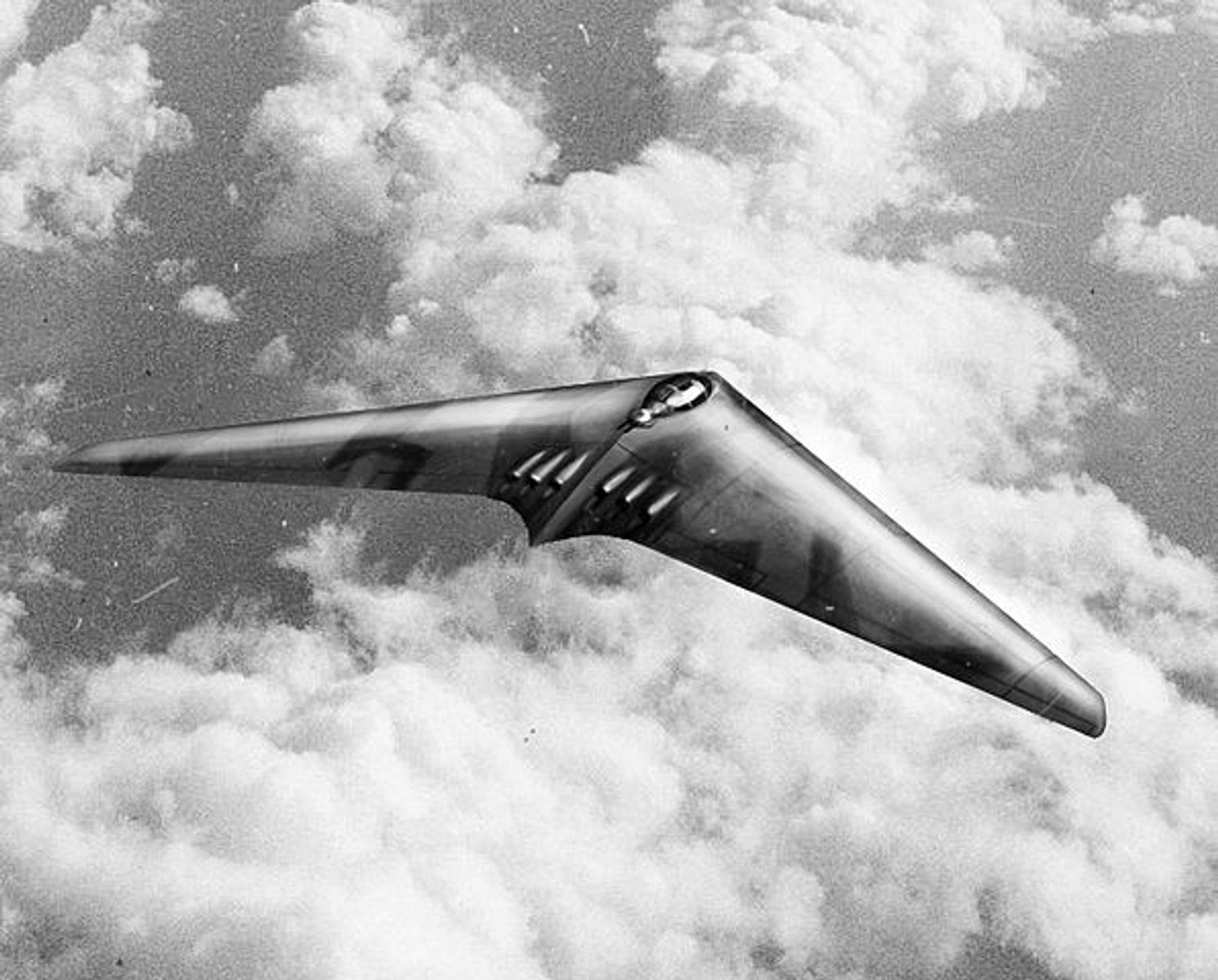 The Horten Ho. XVIII: The Flying Wing Bomber Nazi Germany Planned to Use to Bomb New York