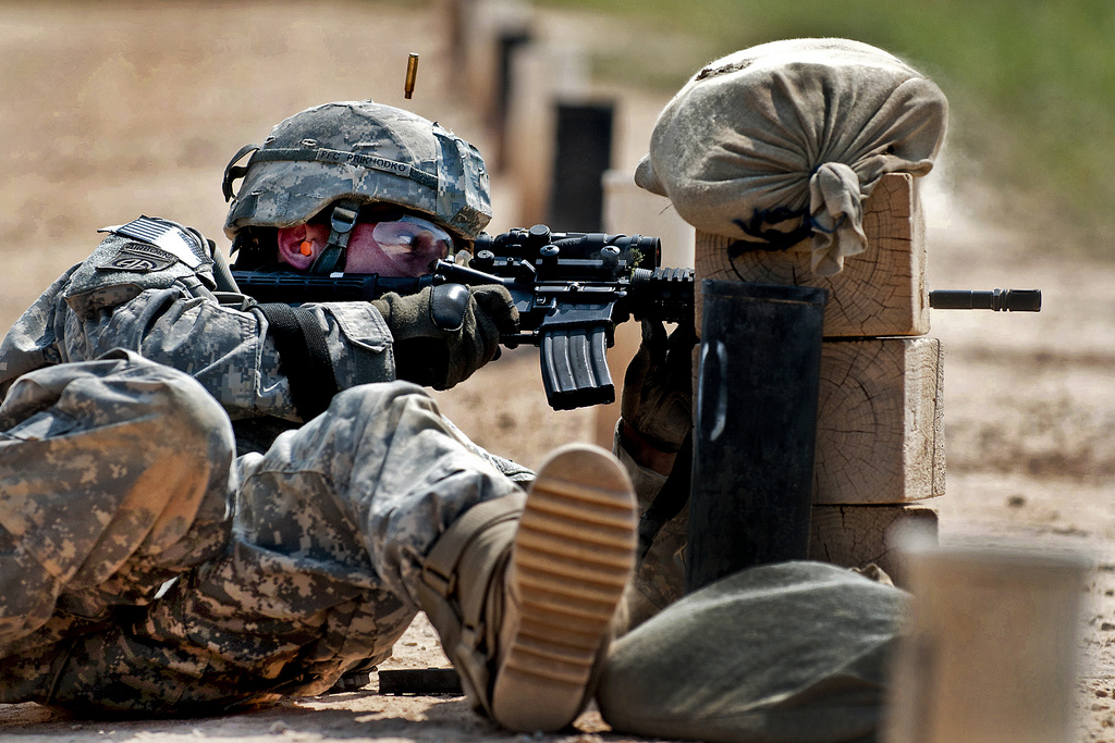 Ultimate Gun for the Army: A Rifle That Can Fire Up to 5 Rounds at Once
