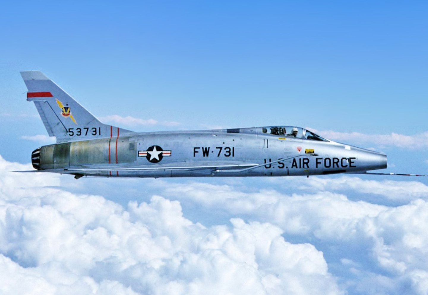 The F-100 Super Sabre Was the Air Force's First Supersonic