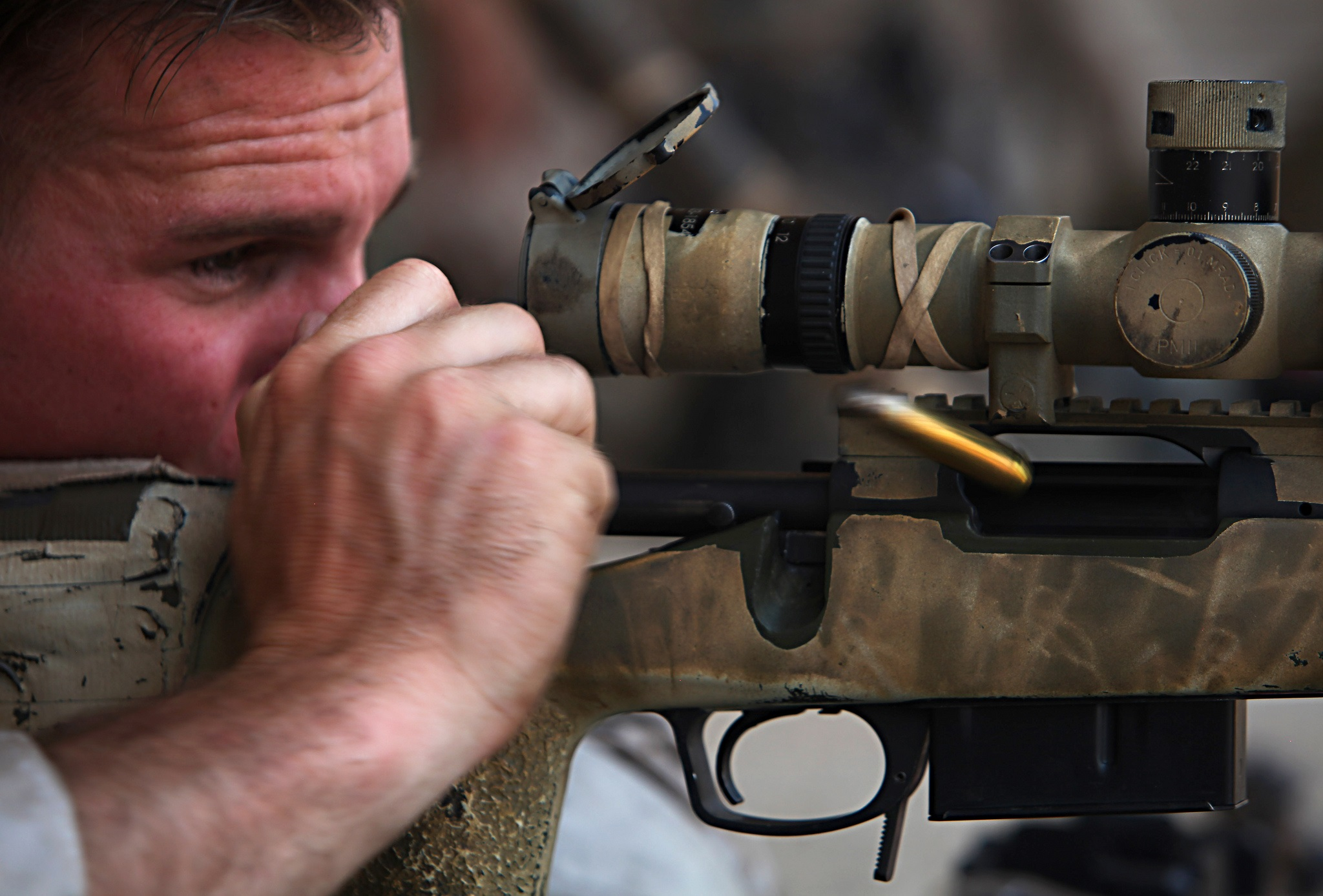 The Marine Corps Now Has the Lethal Mk 13 Mod 7 Sniper Rifle. Here's How Deadly It Is.