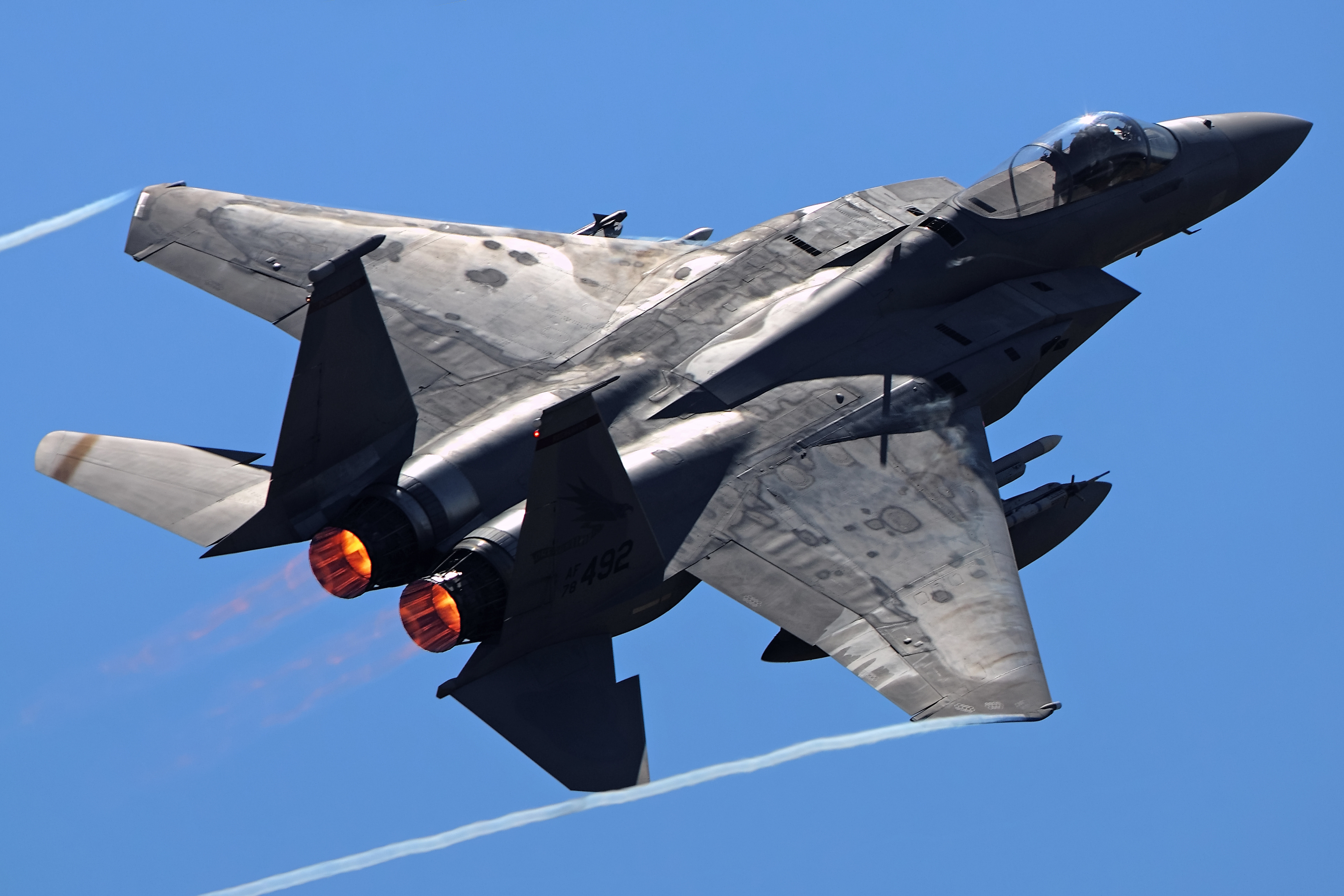 How The F 15 Will Become A Flying Arsenal To Help F 22s