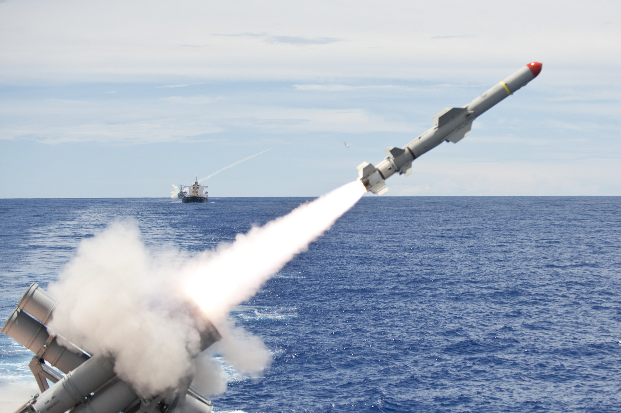 Meet the Harpoon : Know Just How Powerful is America's Harpoon Missile