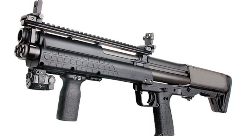 Meet the KSG-25: Kel-Tec's Insane 41-Shot Manual Bullpup Shotgun