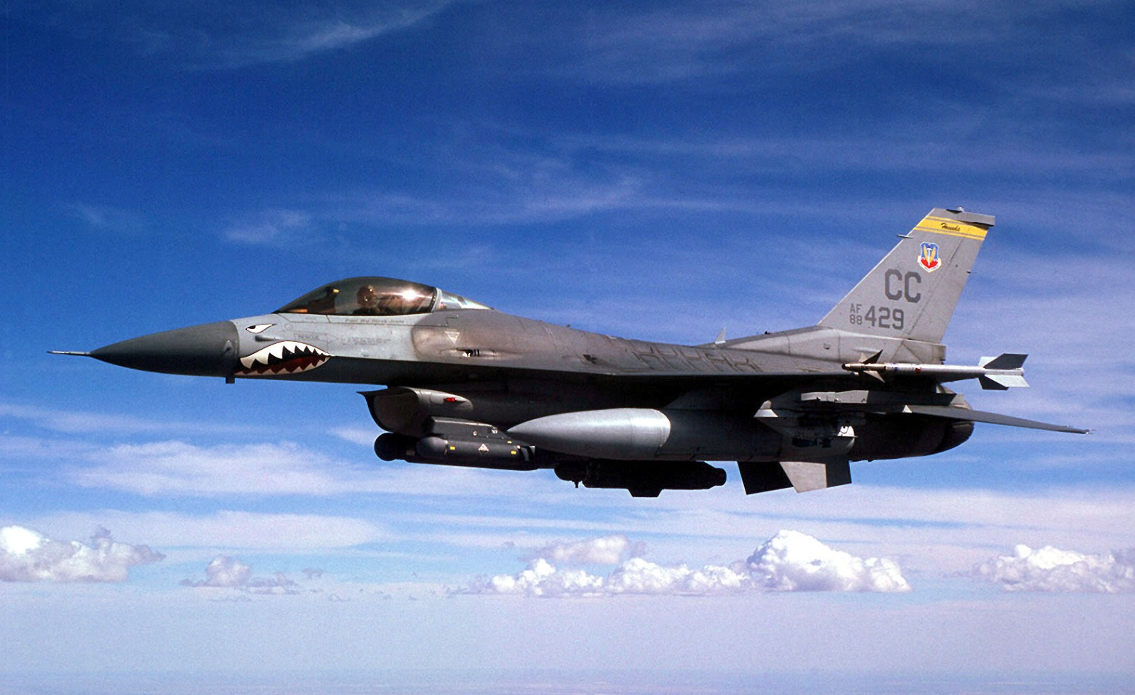 This F-16 Pilot Tells Us about the Berserk Mission He Flew Over Libya