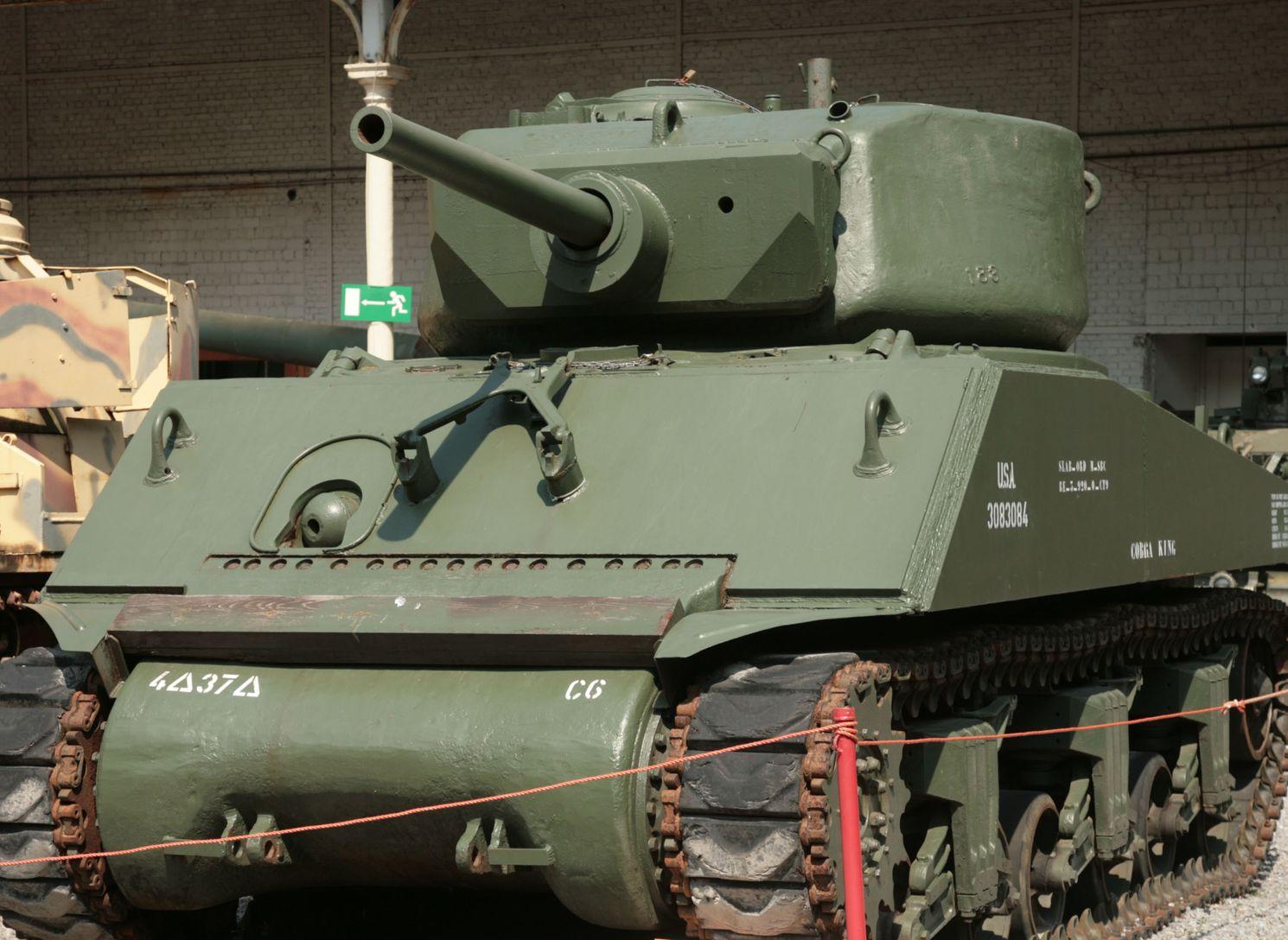 The U.S. Army's World War II Sherman Tank: Best Worst Tank They Had?
