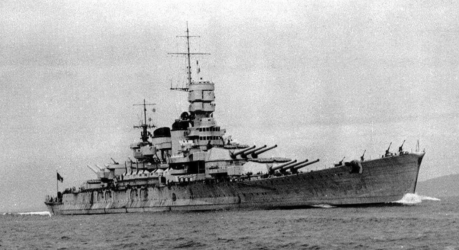 World War II Fact: Hitler Tried to Sink Mussolini's Battleship Fleet