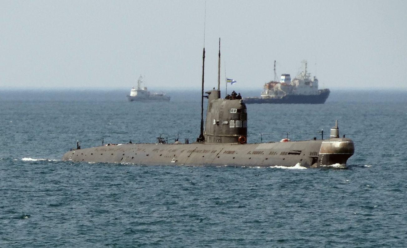 The Ukrainian Navy Used to Have a Submarine. No Longer.