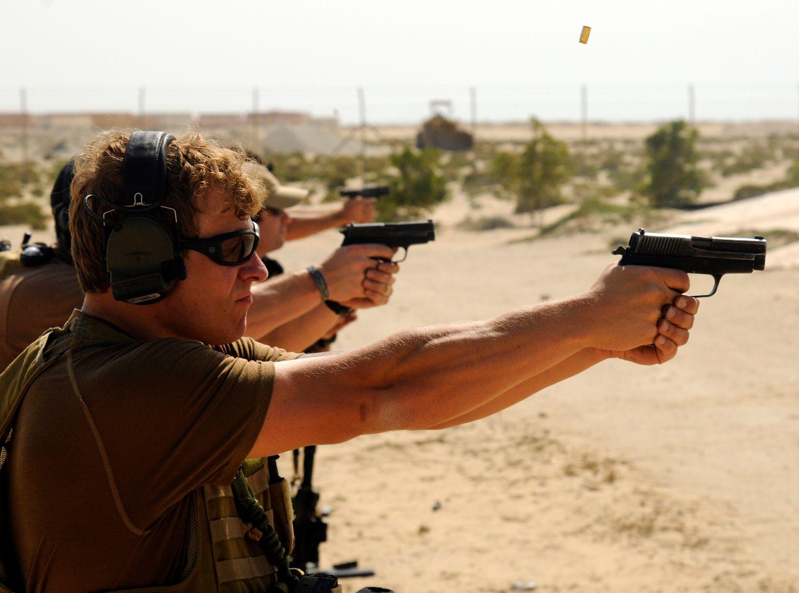 The P226 Handgun Is the Navy Seal's Favorite Gun for 1 Reason