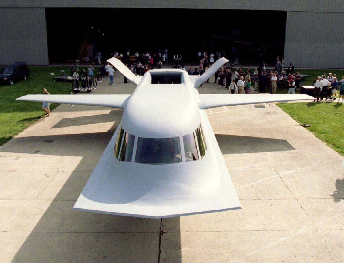 This is Tacit Blue—the World's Weirdest Stealth Plane