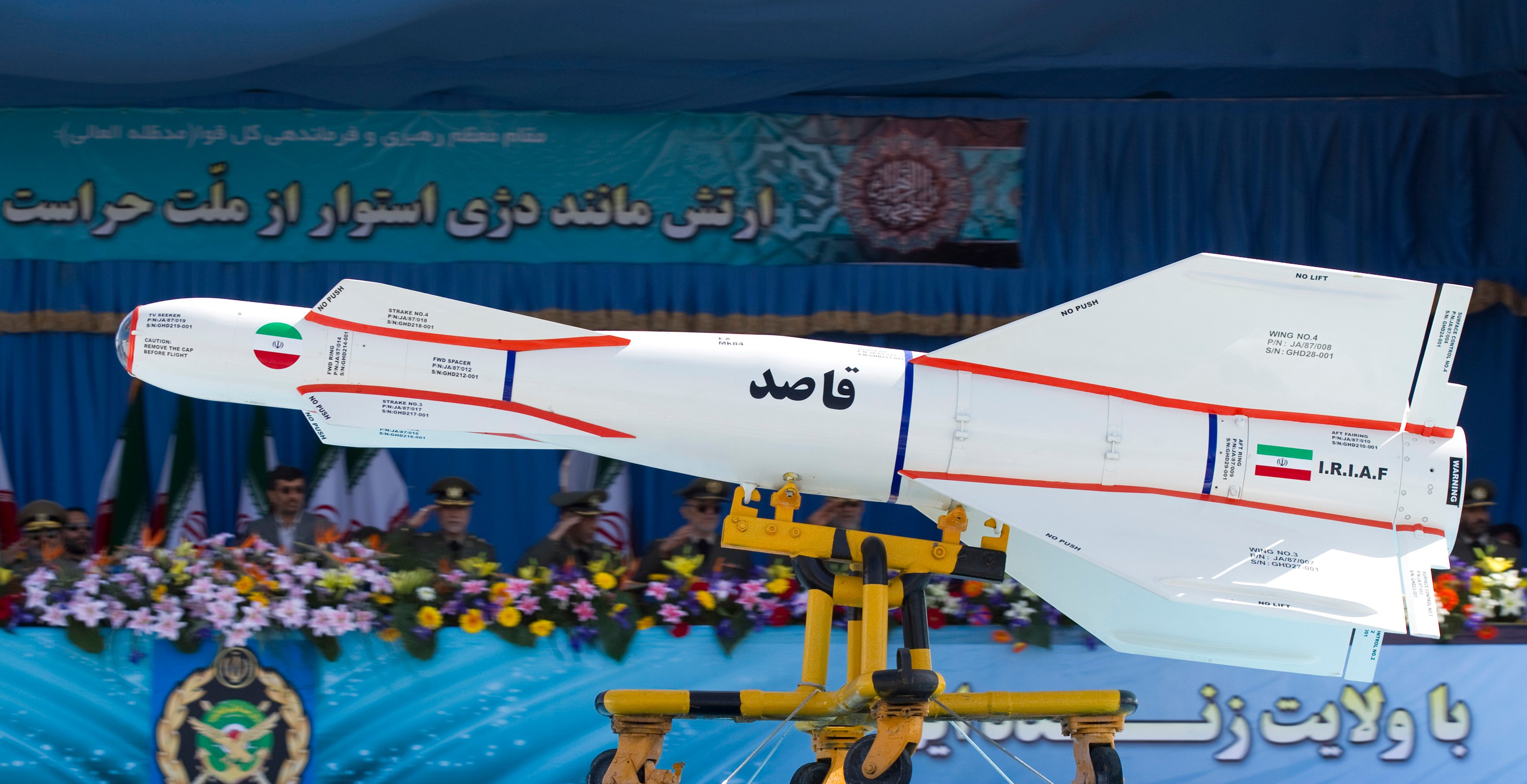 Terrifying: Watch Iran Practice a Missile Attack on Israel