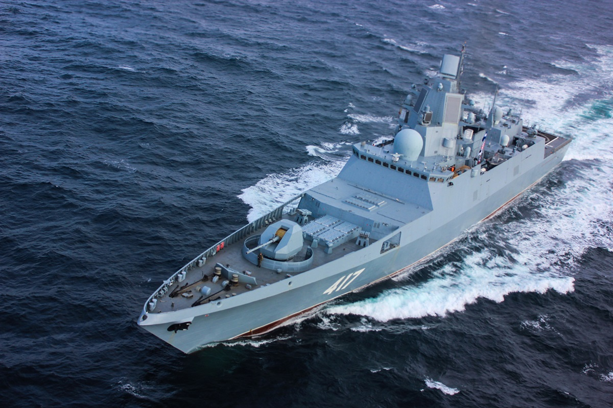 Study This Fancy Photo: This Might Be Russia's Next Deadly Warship