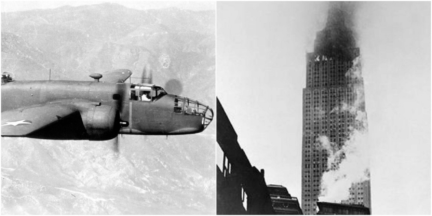 The Sad Story of the B-25 Bomber that Crashed into the Empire State
