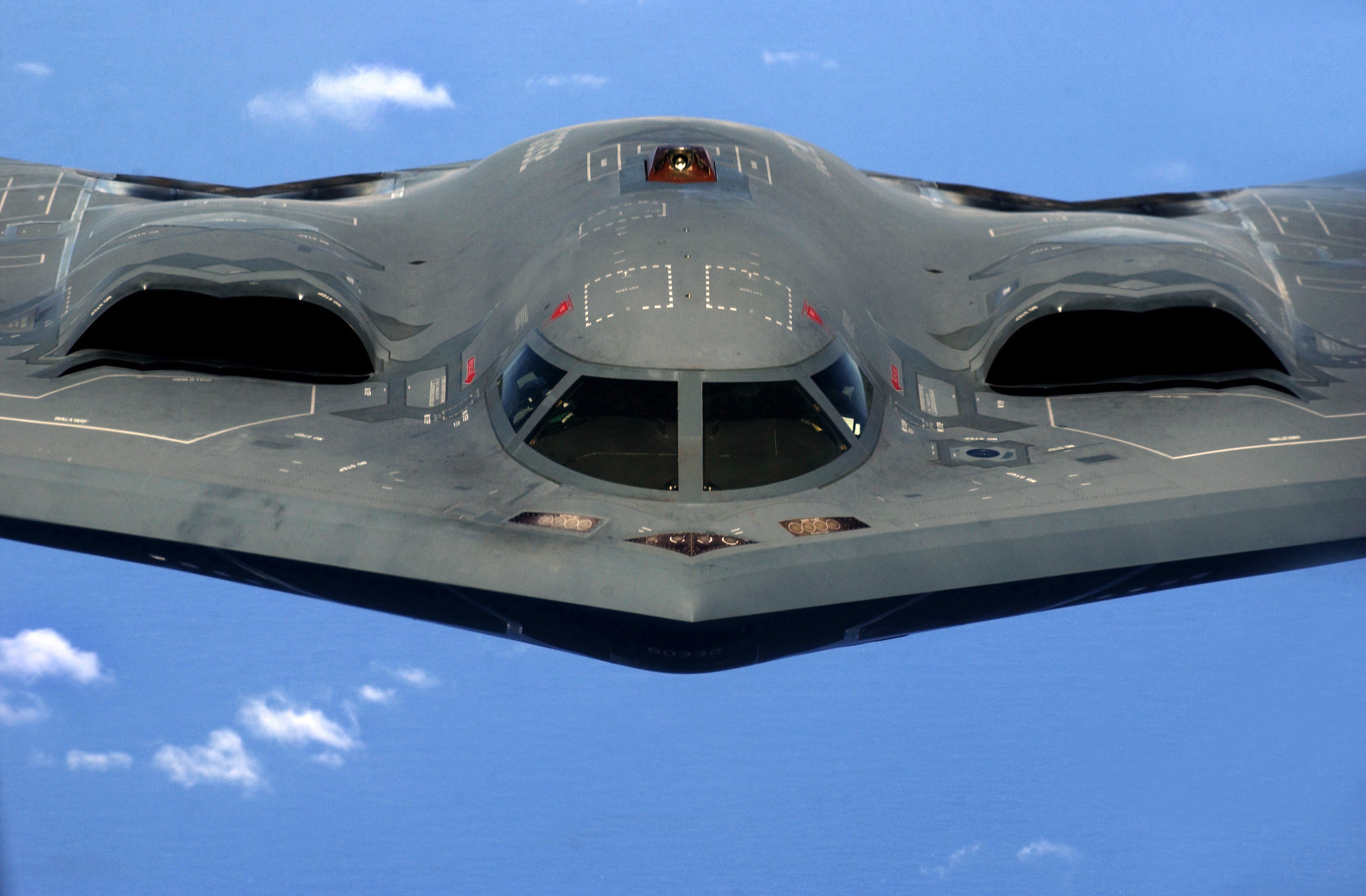 Mic Drop, B-2 Bomber Style: Watch This Stealth Bomber Wipe Out A Mock Airfield