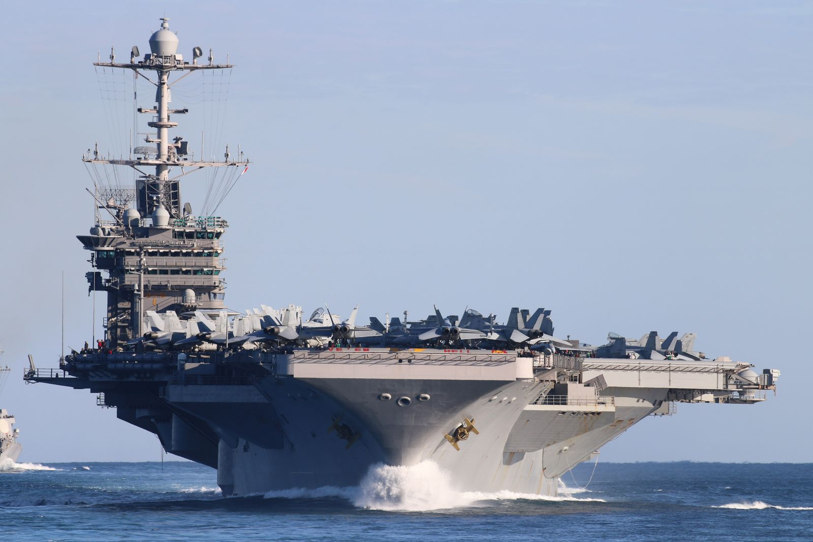 This U S  Navy Nuclear Powered Aircraft Carrier Won U0026 39 T Be Retired After All