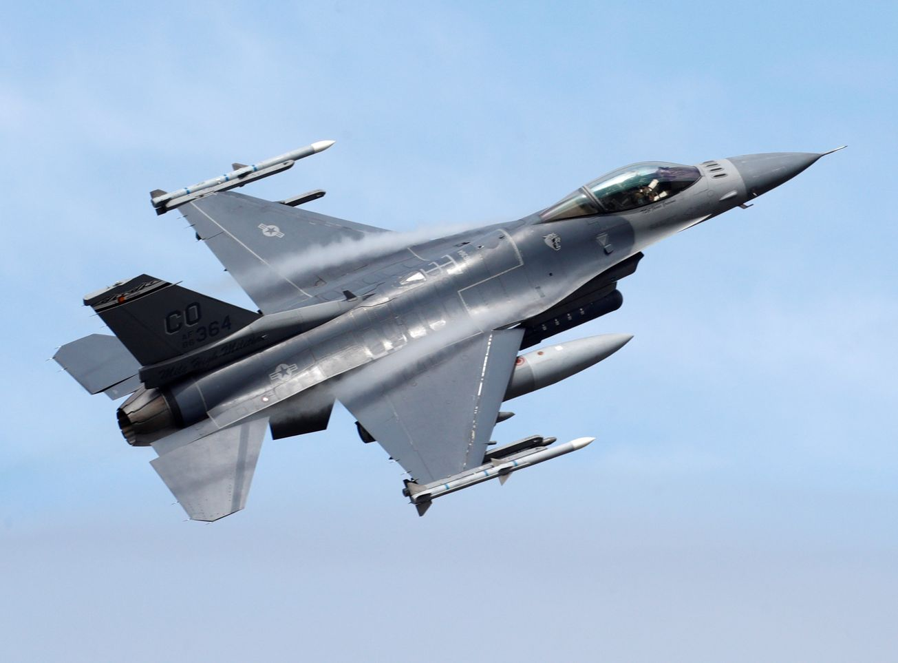 All the Reasons Why the Air Force's F-16 Is Still a Deadly Plane