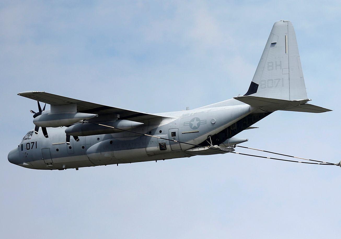 Resultado de imagen para Missile Tanker: How the Marines Changed a KC-130J Fuel Tanker Into a Spy and Missile Warplane