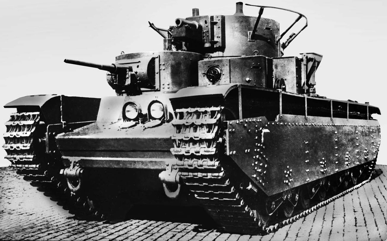 Junk: Why the Soviet Union Hated Its Own T-35 Tank