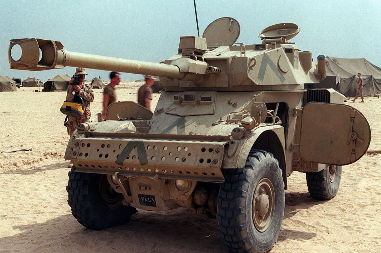 France's Panhard AML Is Truly the Poorman's Tank | The National Interest
