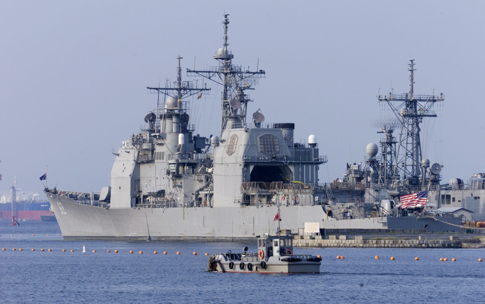 Watch a Russian and an American Warship Nearly Collide