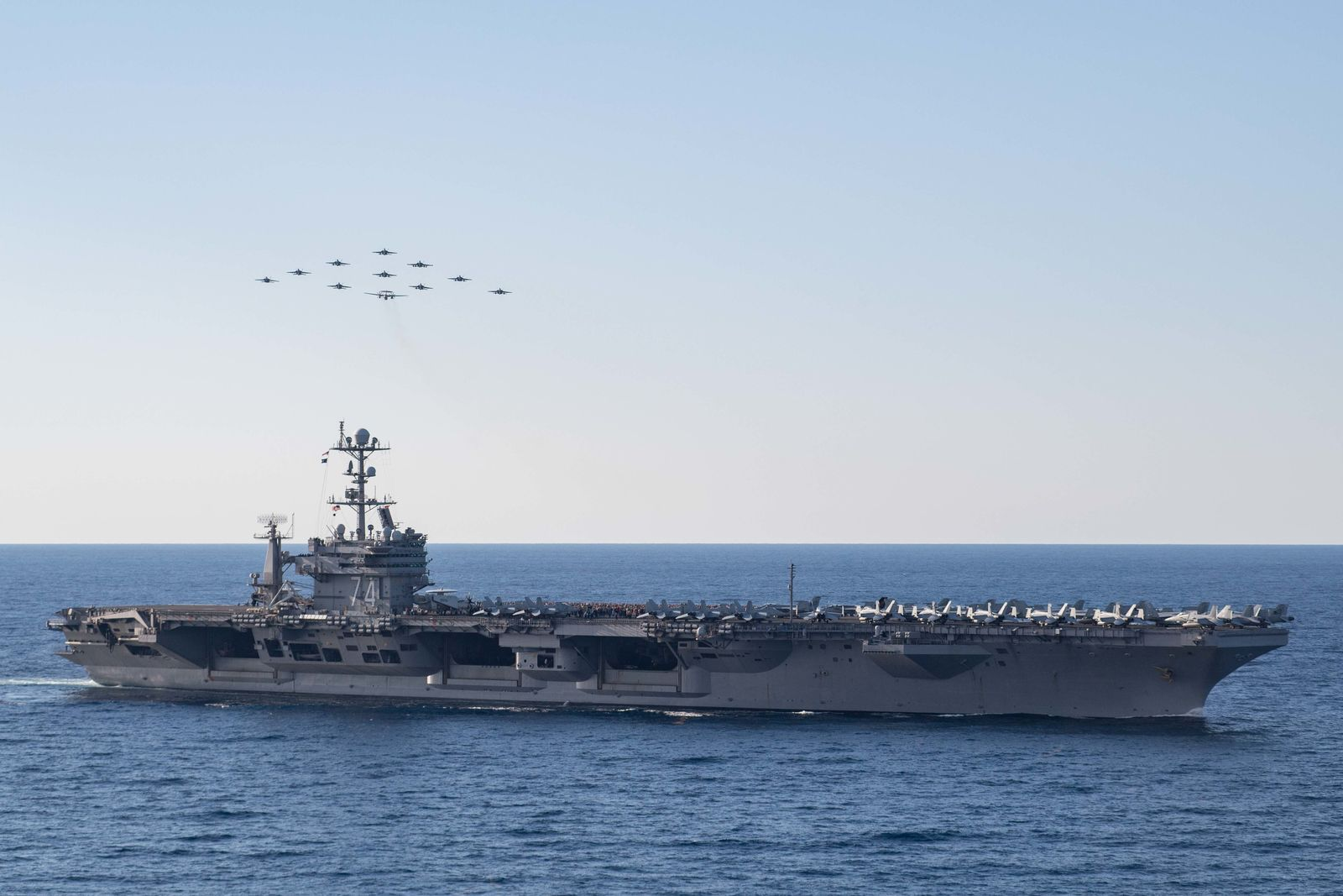 Let Us Take You Inside Iran's 2015 Simulated Attack on a Navy Aircraft Carrier