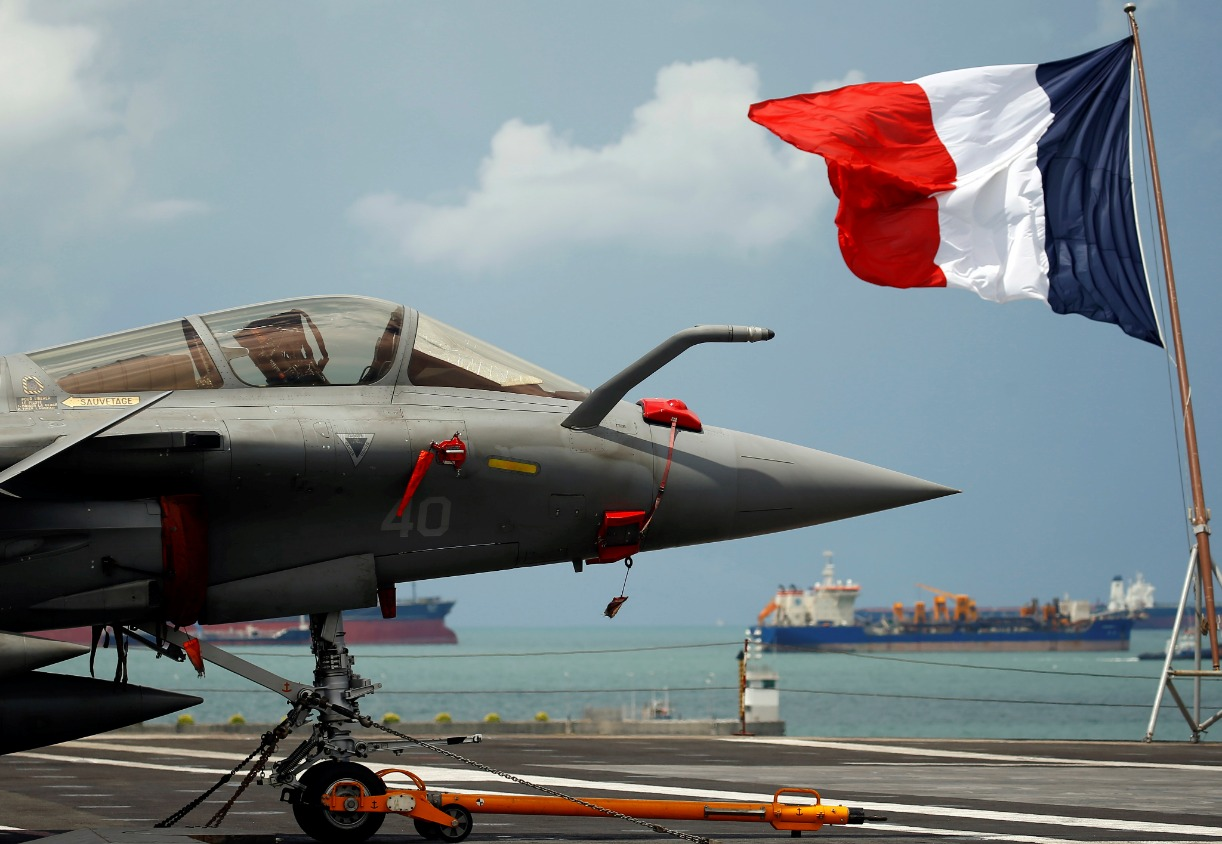 Image Cyprus Welcomes France's Flagship Carrier After Operations With IKE