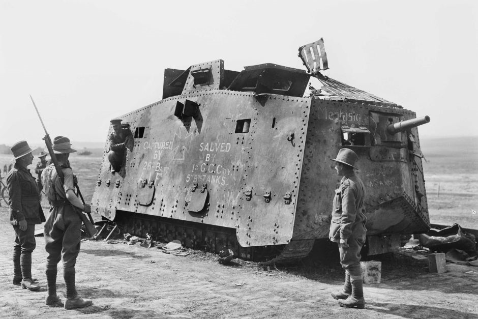 This Was Germany's World War I Tank (And It Was A Real