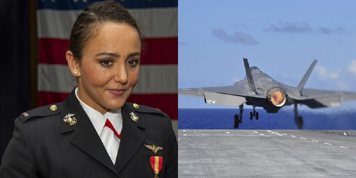1st Lt. Catherine Stark Is the First Female Marine Selected to fly
