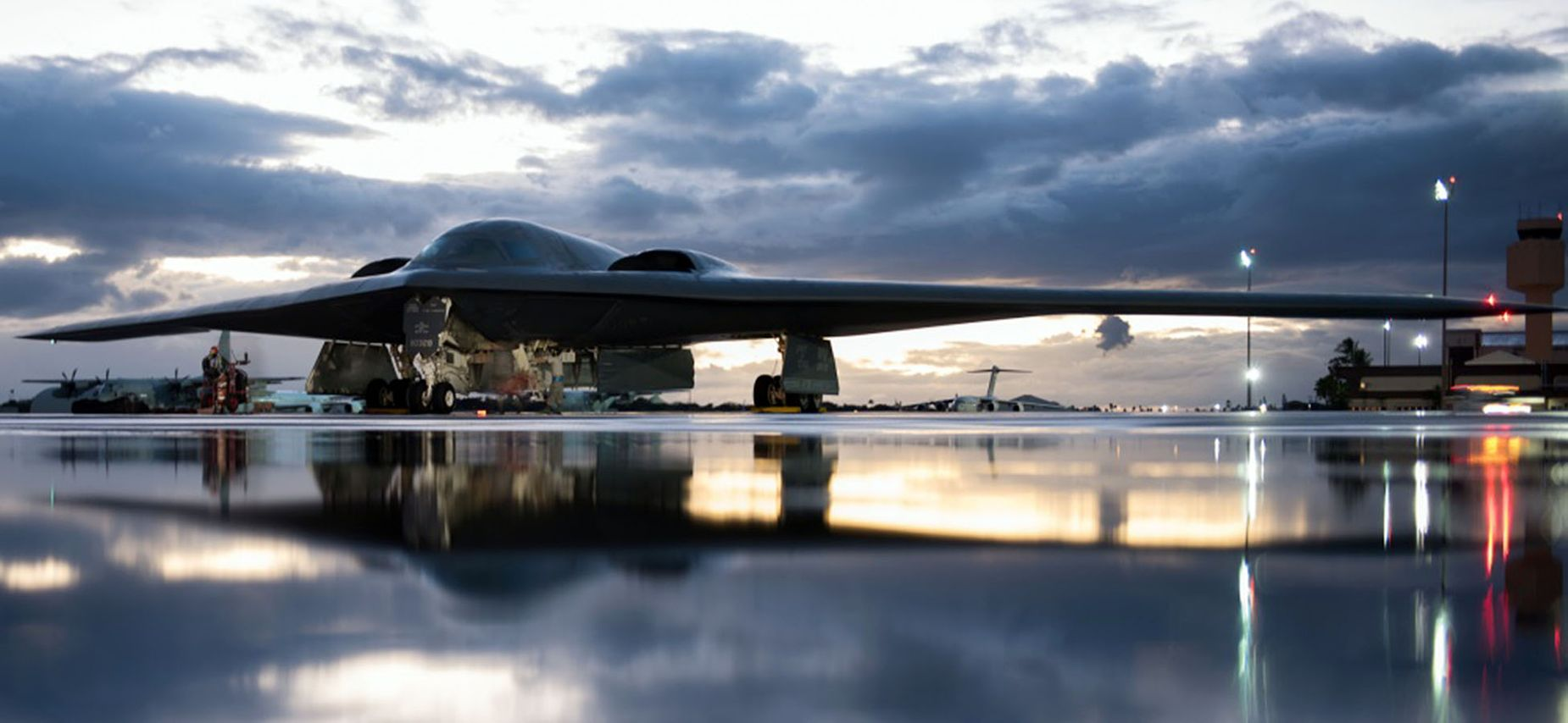 A B-2 Bomber Demolished an Enemy Airfield In This Video. Check It Out.