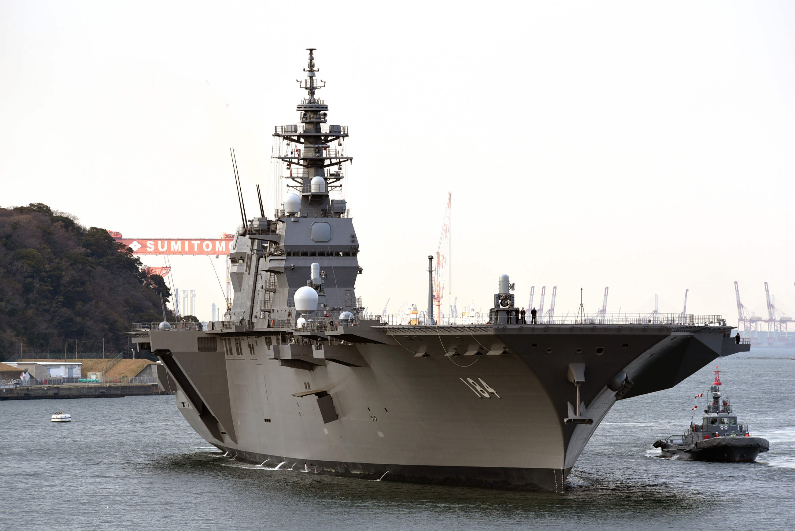 There Is Only 1 Thing Stopping Japan from Building Real Aircraft Carriers