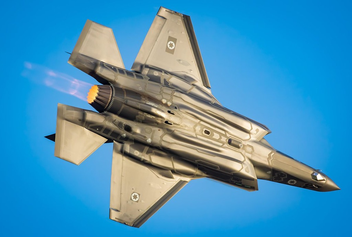 Israel Attacked Syria with Its Very Special F-35I Stealth Fighters