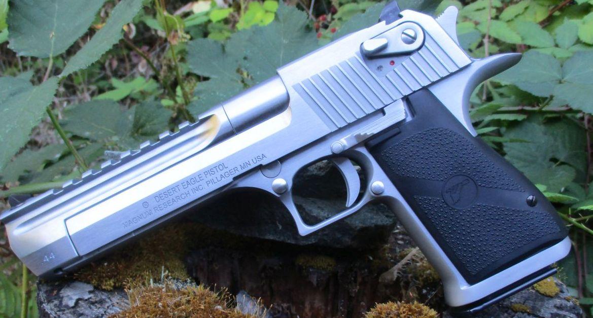 Desert Eagle: What Happens When You Merge a Shotgun and a Rifle
