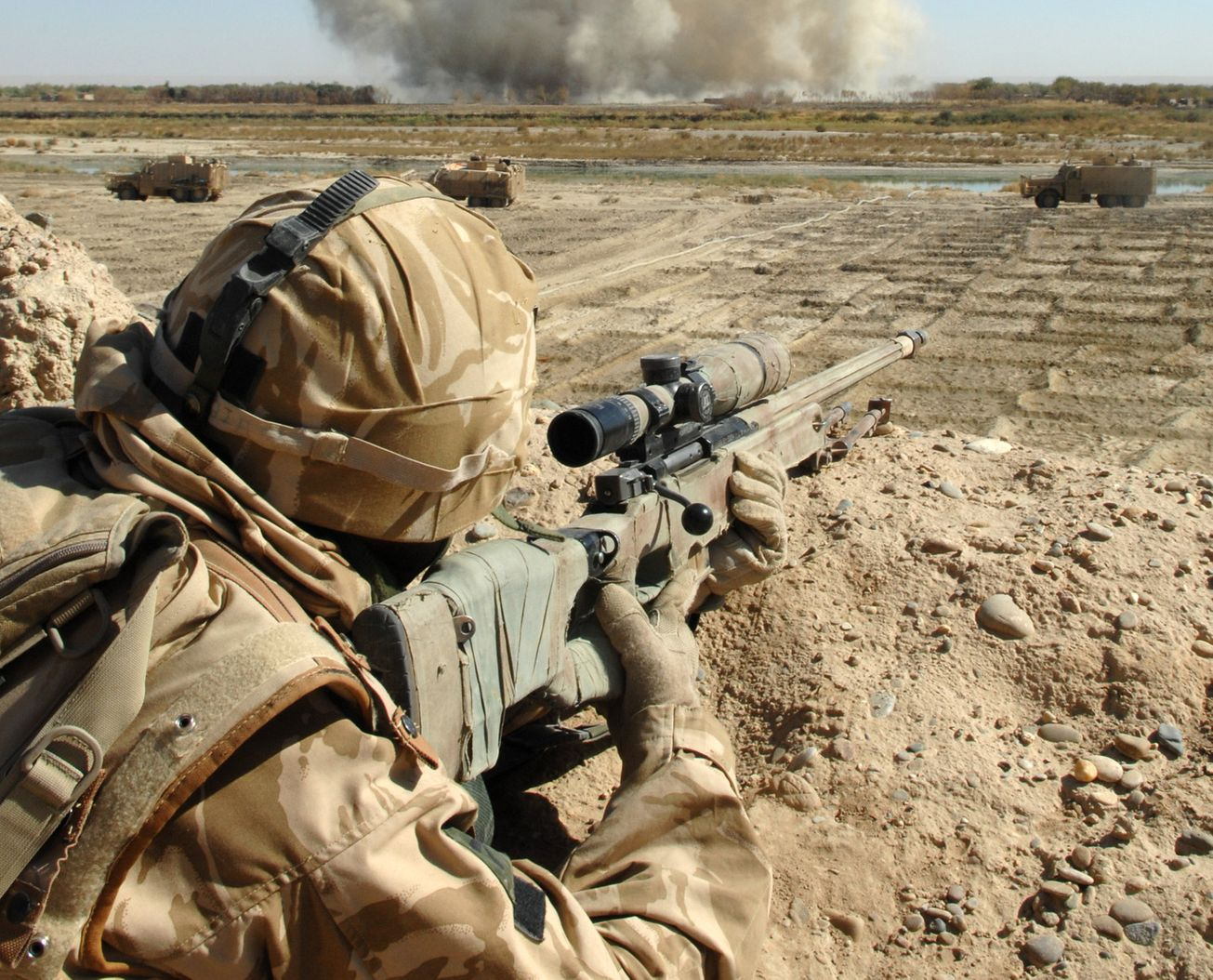 L115a3 The Best Sniper Rifle Today The National Interest