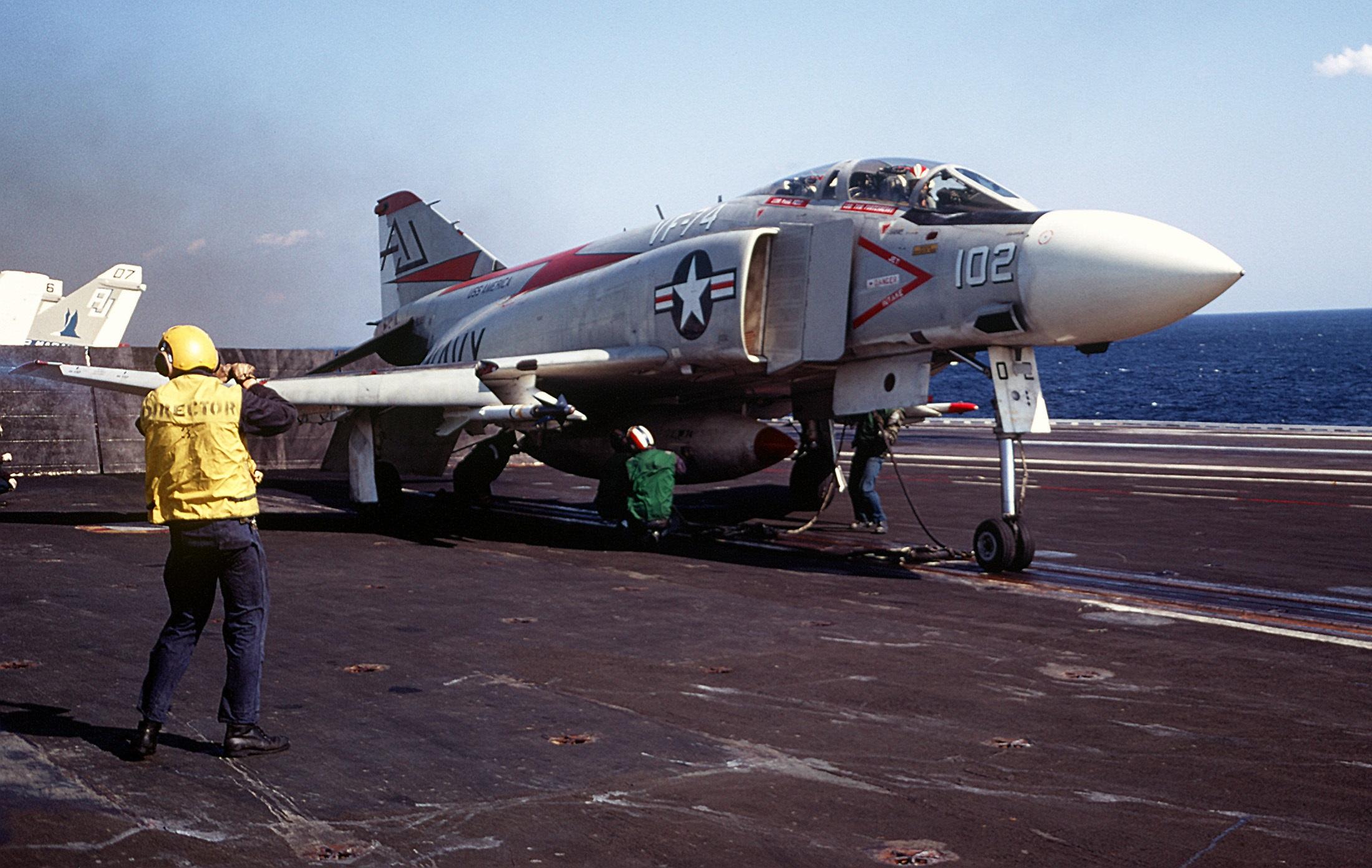 That Time Gaddafi Scrambled 70 Fighter Jets to Intercept U.S. Navy