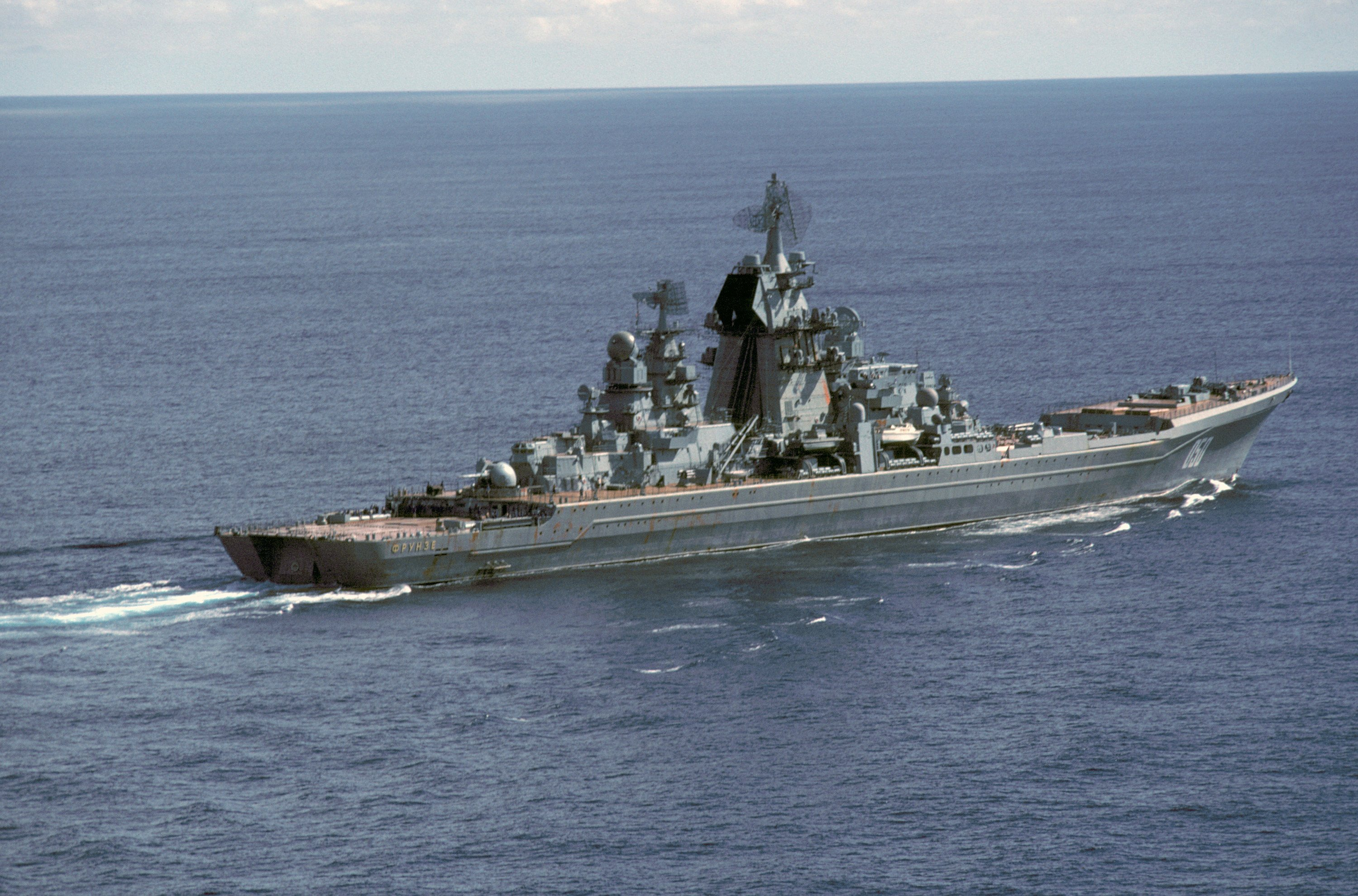 Russia's Nuclear-Powered Battlecruisers: The Most Powerful Warships On the Planet?