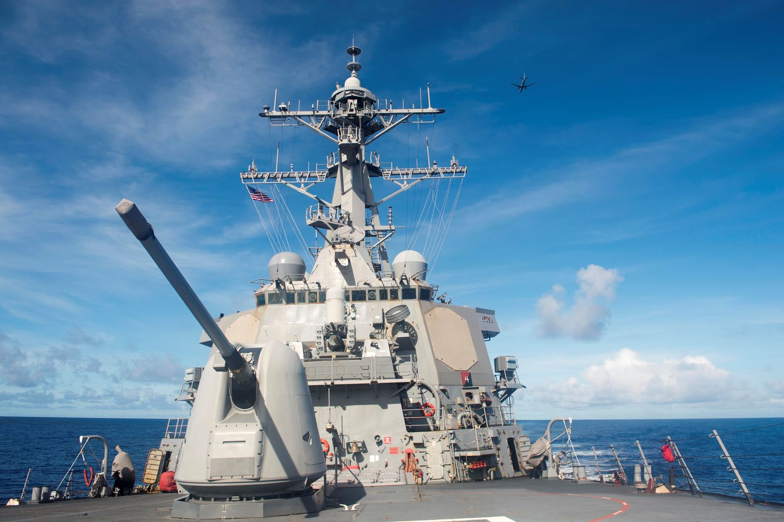 Cat and Mouse: A U.S. Destroyer Shadowed a Russian Warship in the