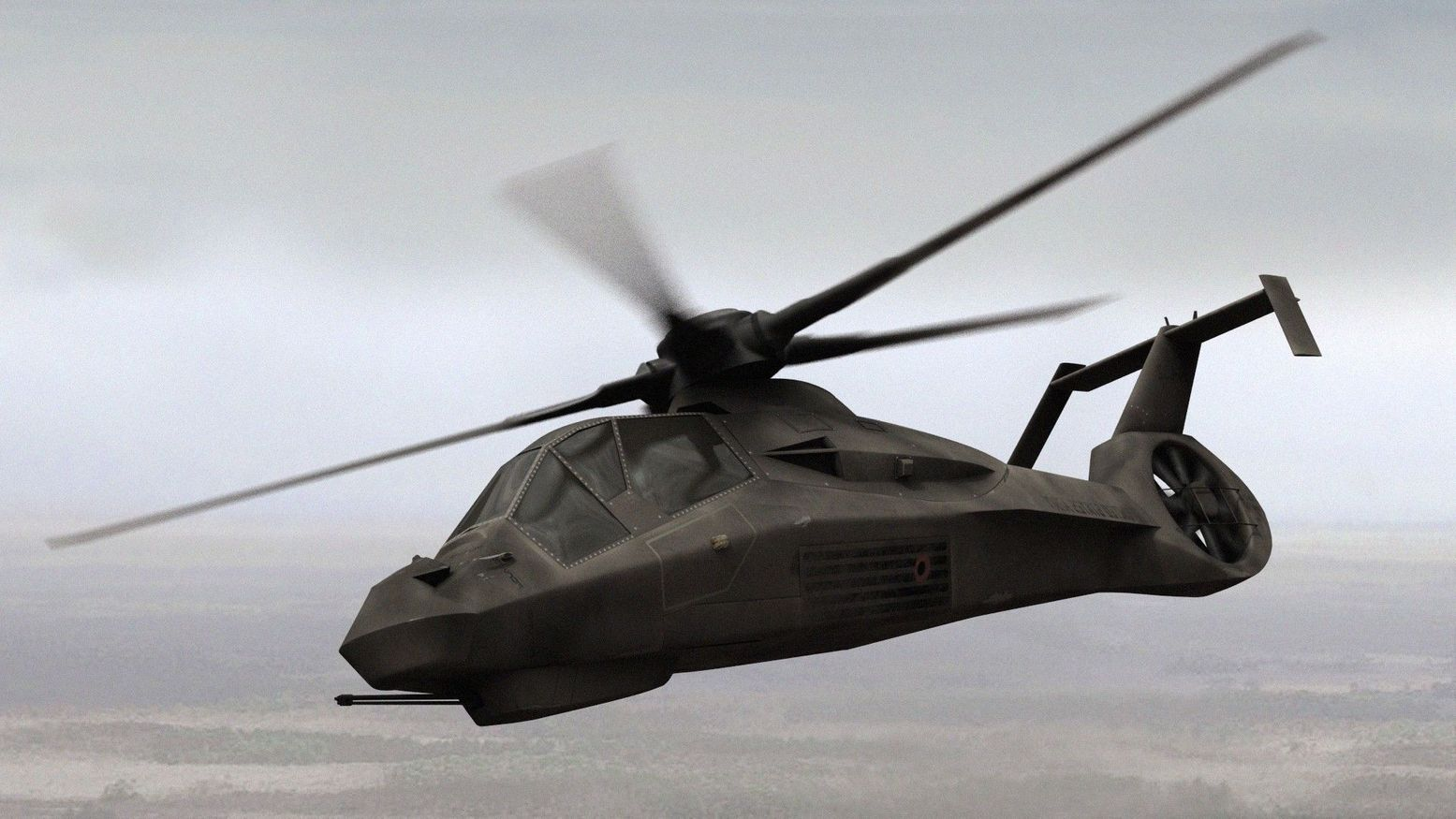 See How the Army's Would-Be Stealth Helicopter Borrowed from the F-35