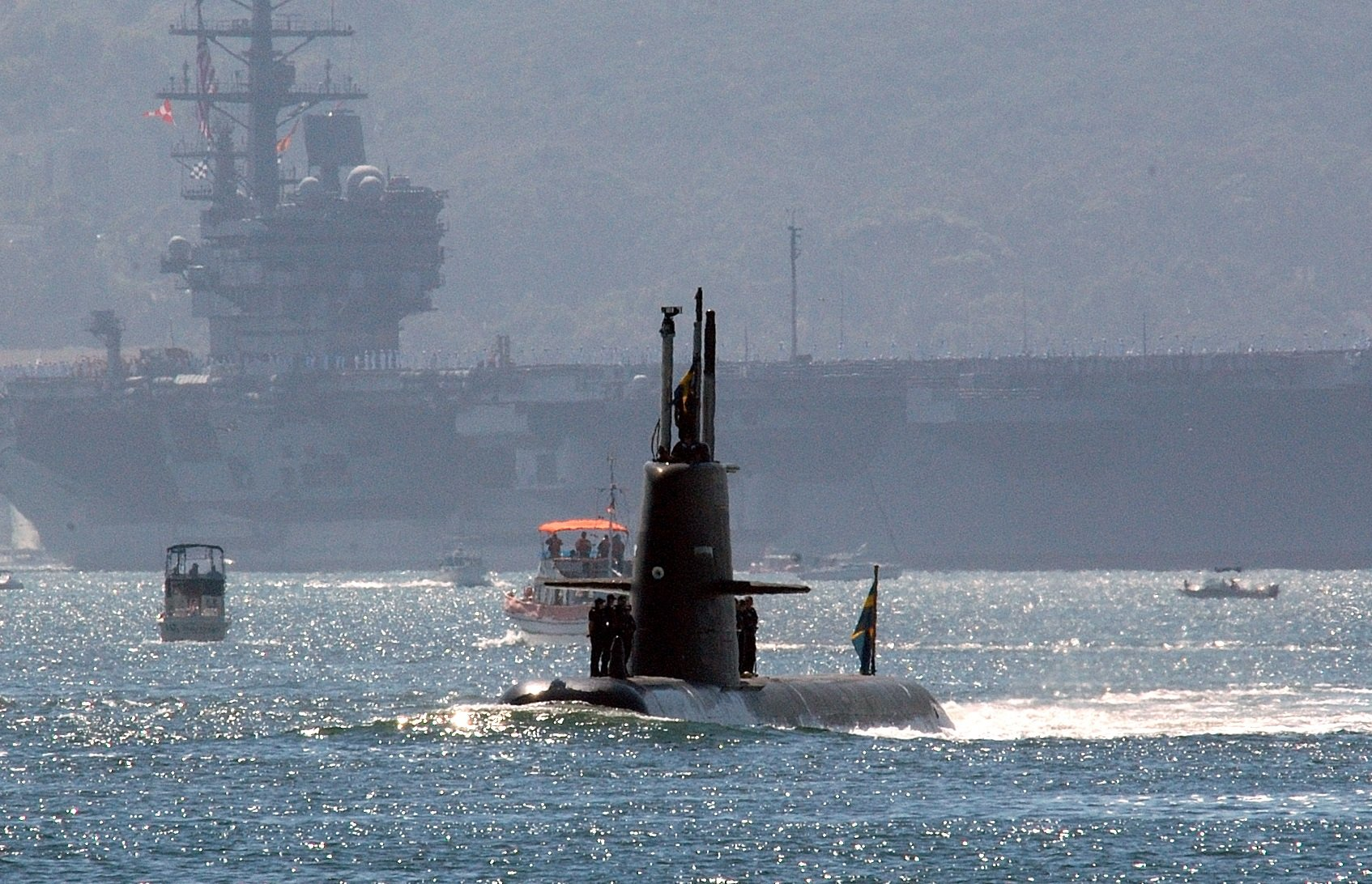 How This Small (But Stealth) Submarine from Sweden Sunk a Navy
