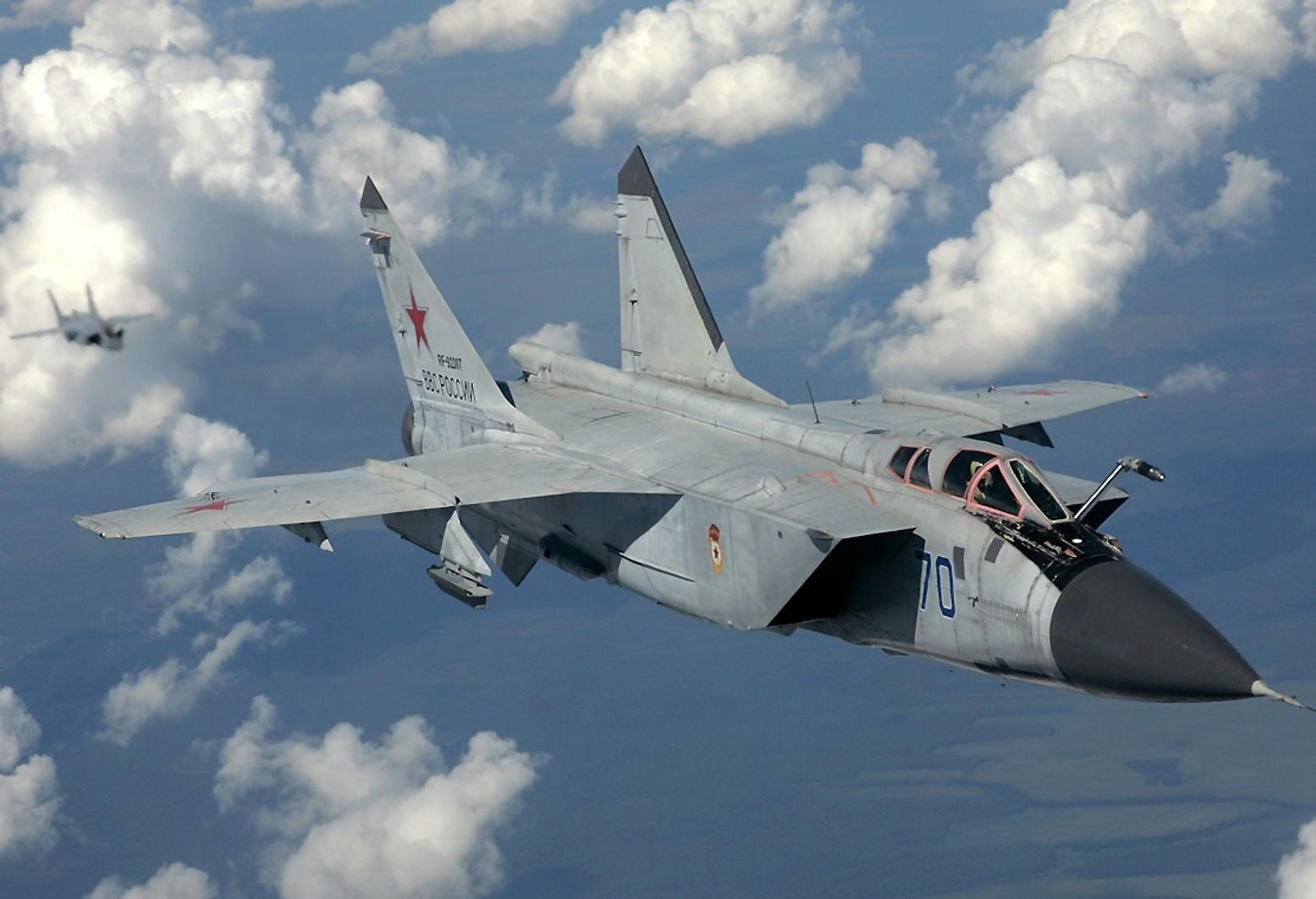 Whoops: A Russian MiG-31 Shot down One of Its Buddies