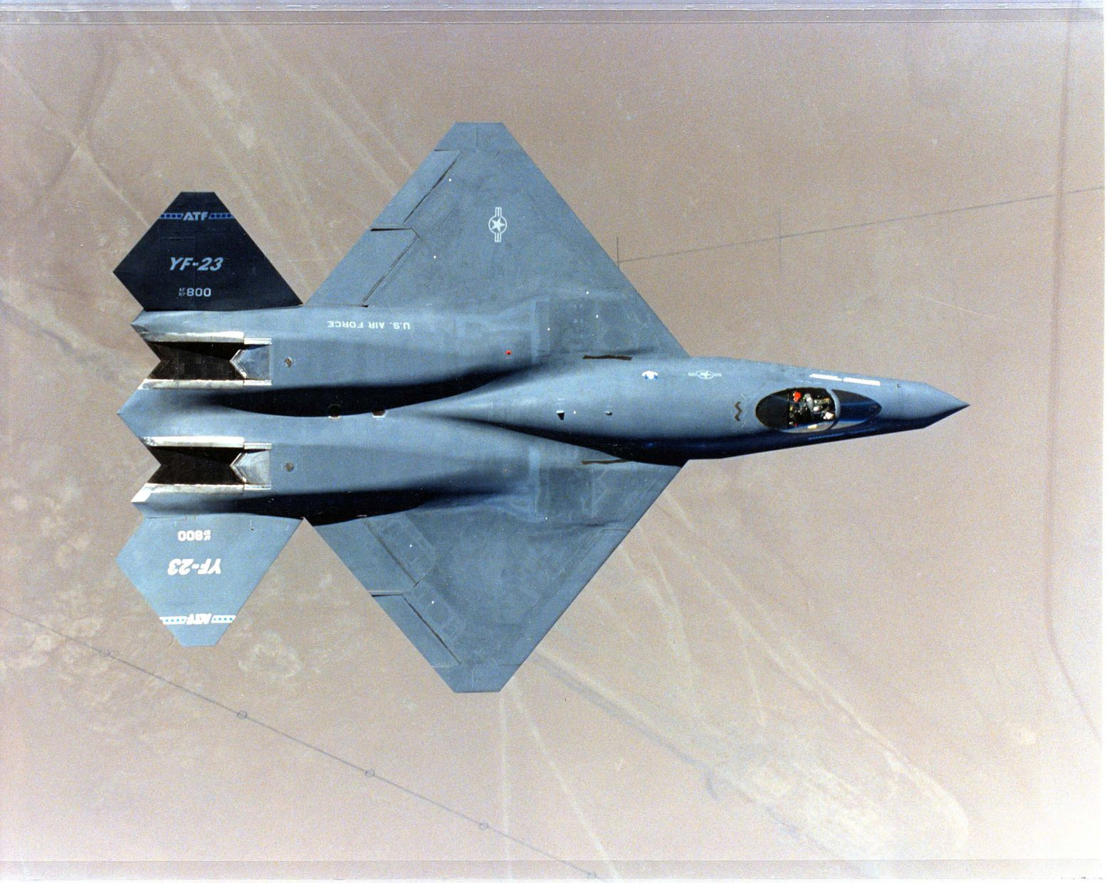 Meet the YF-23 Black Widow II: The Stealth Fighter That America