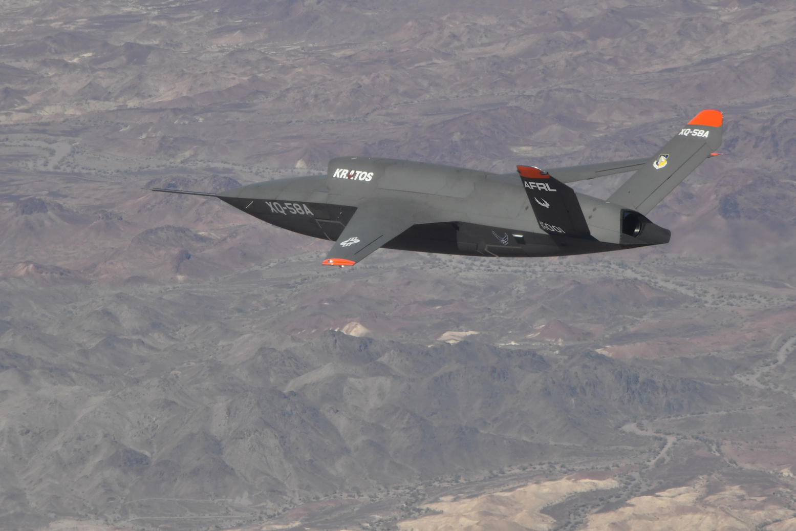 The Air Force's Secret, Stealthy XQ-58 Valkyrie Drone Keeps Making