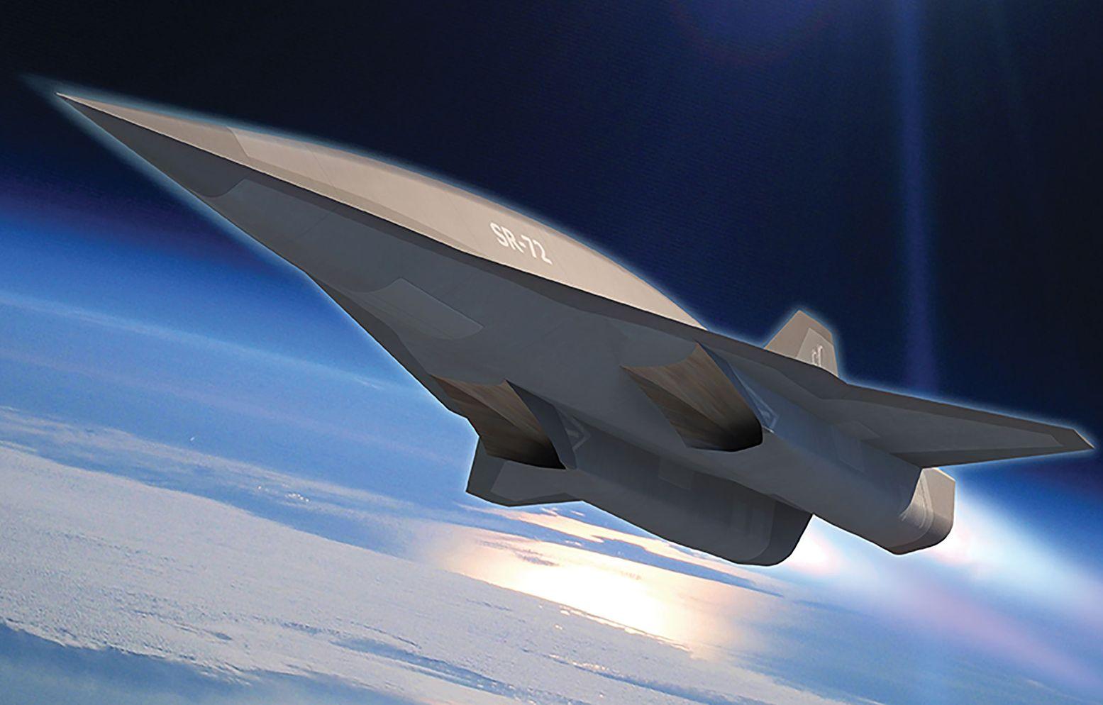 The Air Force's Secret SR-72 Spy Plane: Speeds 'Greater Than Mach 5'